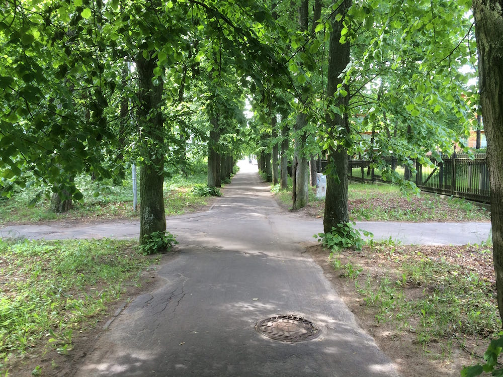 The path to Jurmala beach