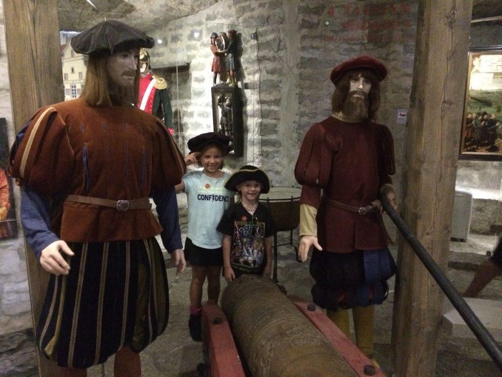 Kiek in de Kok my two cannon soldiers