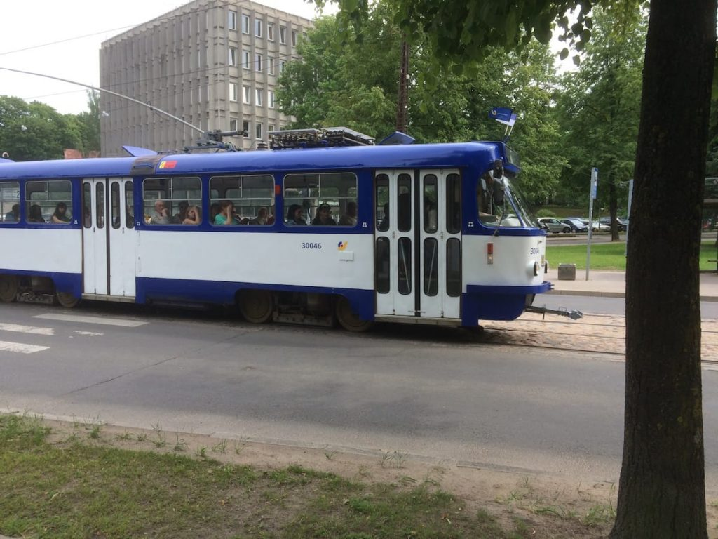 The number 2 tram came right by our street every 15-20 minutes