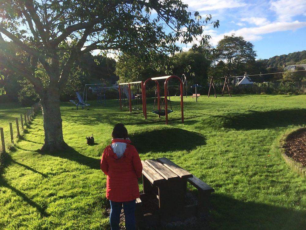 The park at Avoch