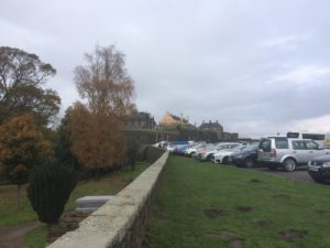Stirling Castle parking lot
