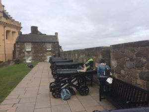 Stirling Castle cannons