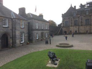 Stirling Castle outer walk