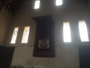 Stirling castle great hall crest