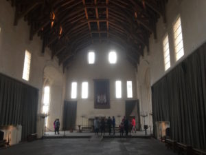 Stirling castle dining hall