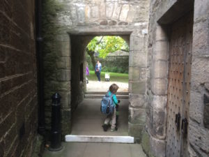 A doorway at Stirling Castle