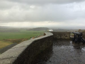 The view at Stirling Castle - perfect