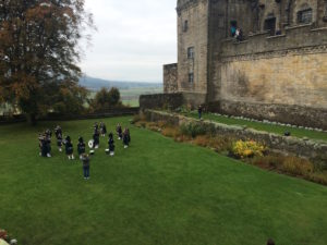 Bagpipers at Stirling Castle - perfect