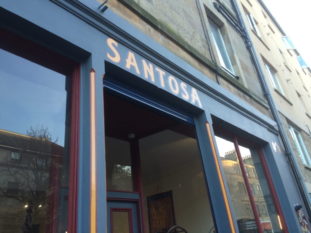Santosa is a great yoga place, cafe and shop