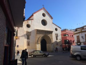 The church at the end of our street Enladrillada
