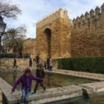 Cordoba is surrounded by a castle wall