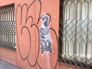 Some cheeky Seville street art