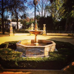 Another beautiful fountain in Seville