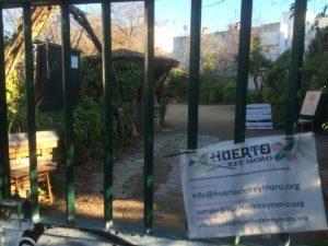 El Herto del Rey Moro was closed a lot