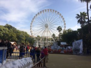 Ferriss wheel at the carnivale in Seville