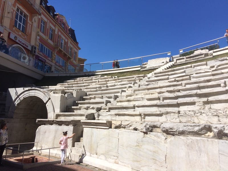 """The Philippopolis was very hard to get used to, every time we saw it in Plovdiv we said """"wow"""""""