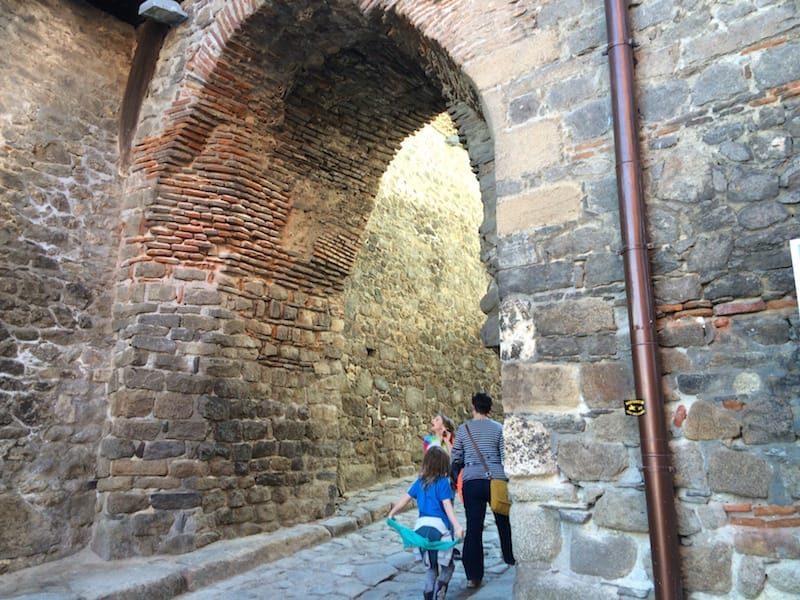 The Hisar Capiya or old gate in Plovdiv