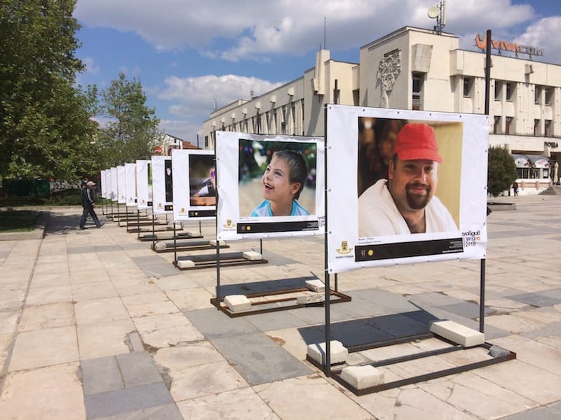 The Tsentralen hosted many events, but also had poster exhibitions discussing different issues and causes such as Down Syndrome