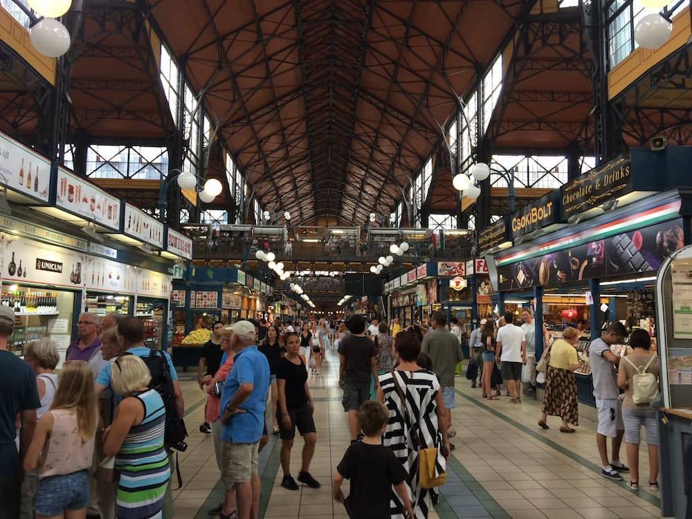 The Budapest Market Hall reminded us of the one in Latvia, incredible Blackberries too