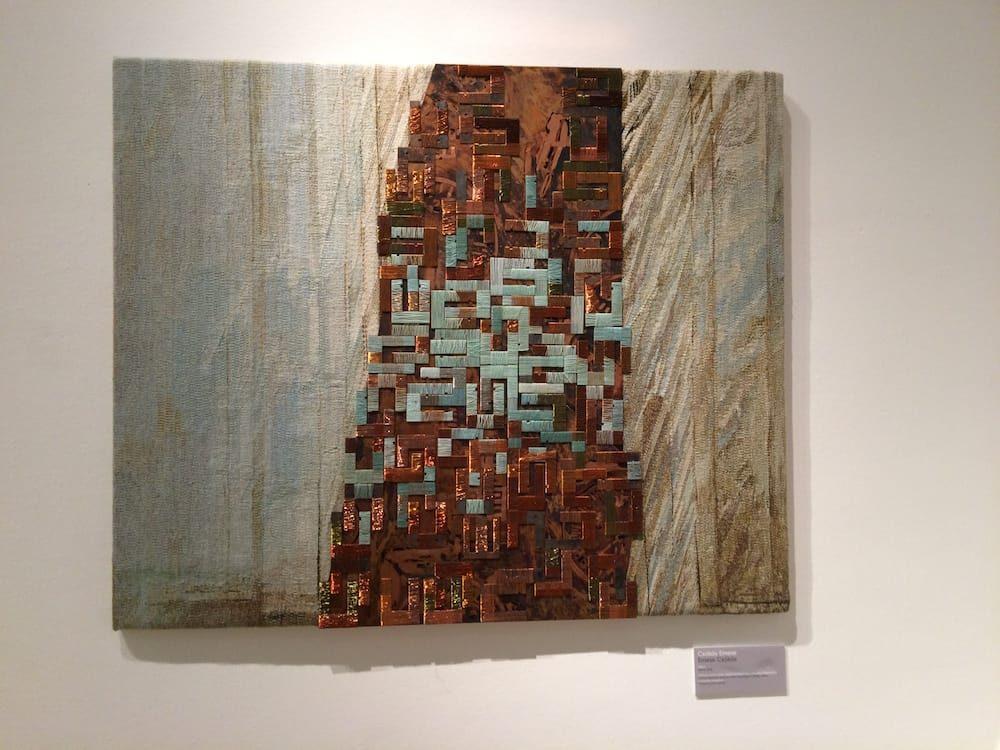 A beautiful mixed media artwork at Palace of Art