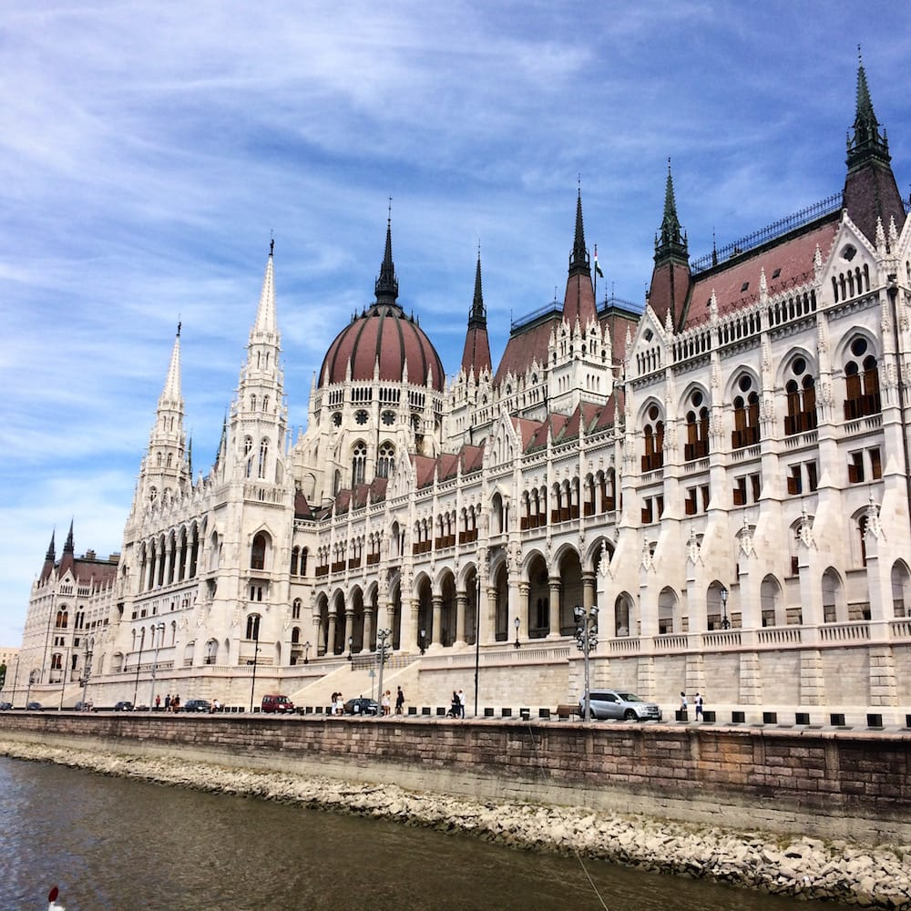 Hungarian Parliament from the river