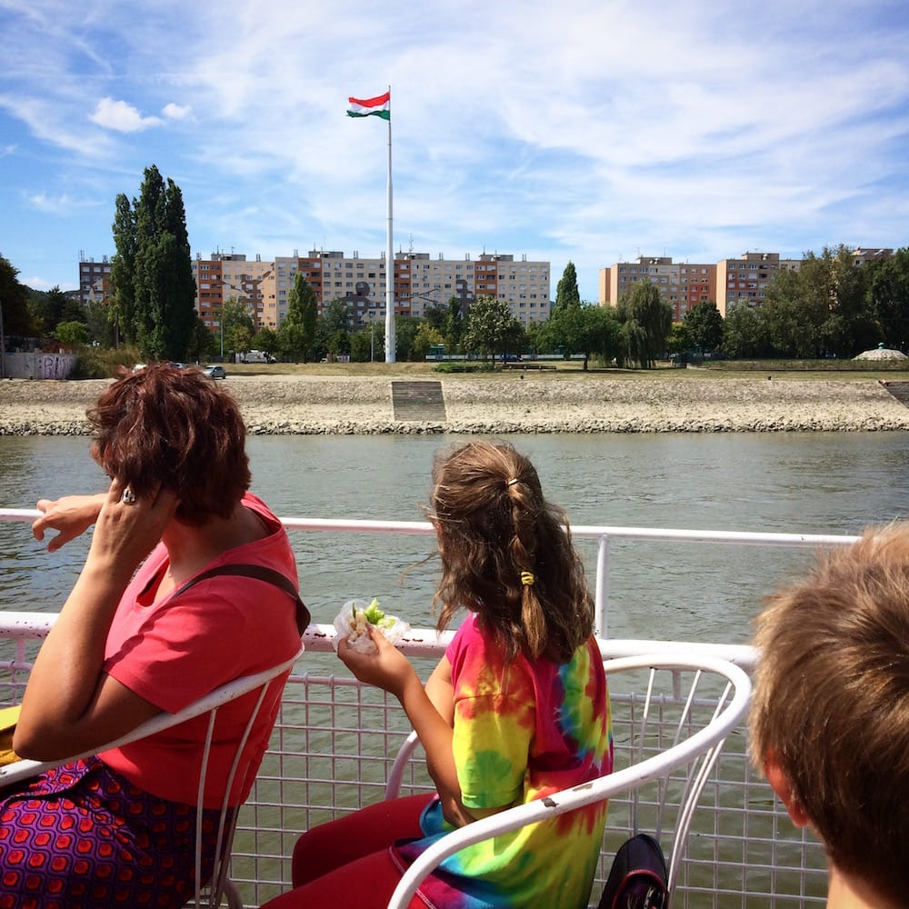Alice's Must-Do was a ferry ride down the Danube