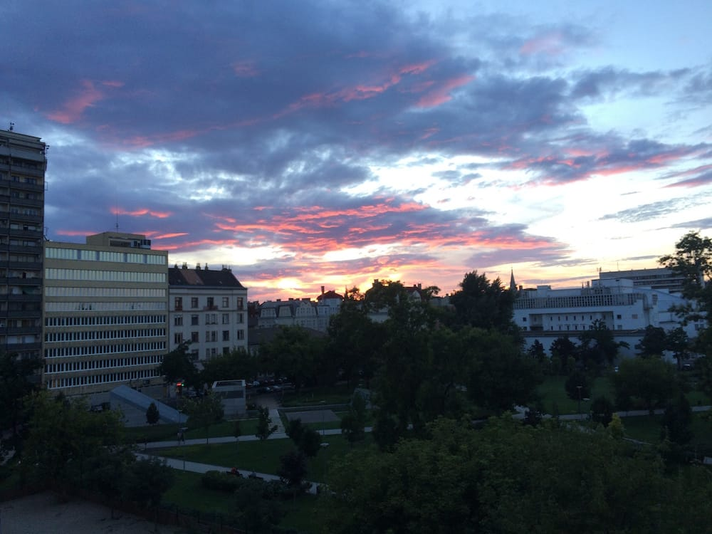 Another awesome Budapest sunset