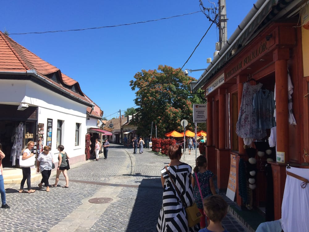 Main street, Szentendre
