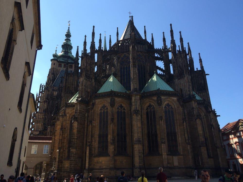 St. Vitus Cathedral full view, Prague
