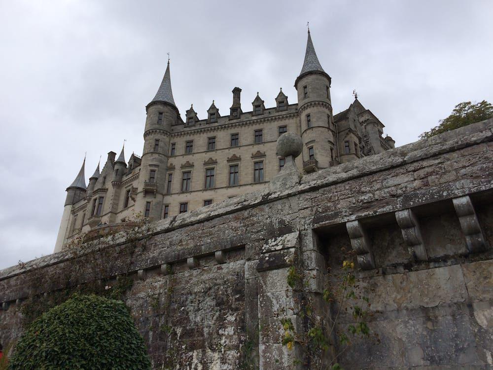 Dunrobin Castle from the garden below