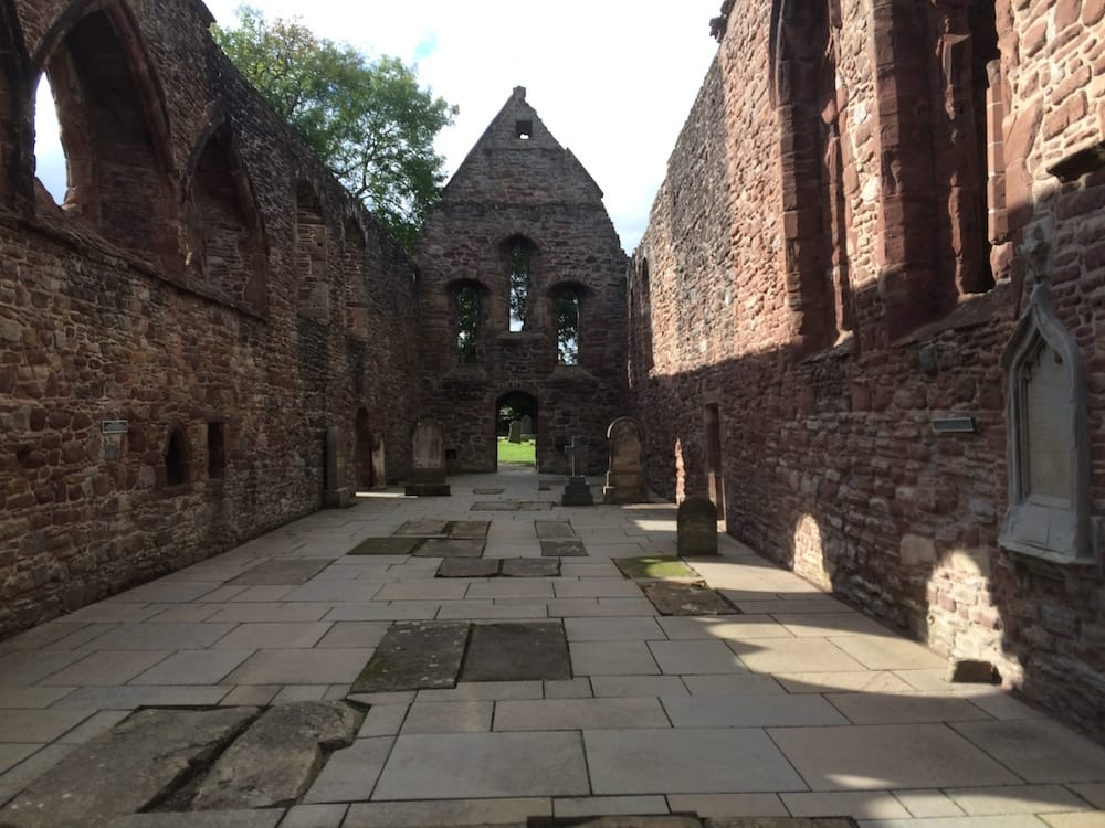 The priory church at Beauly, inside view