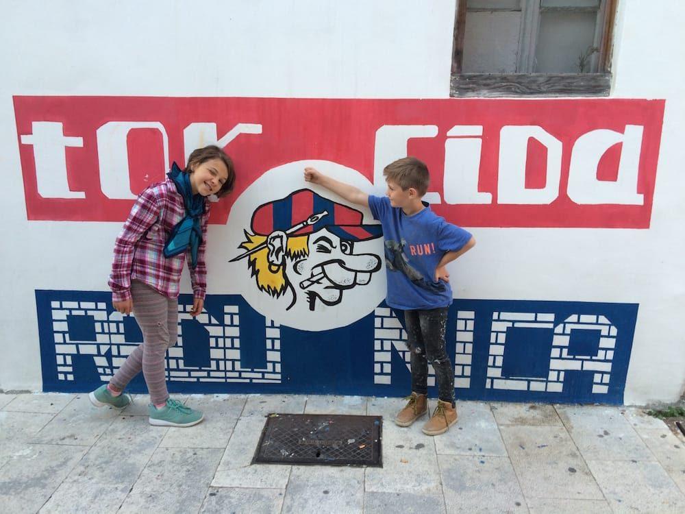 Torcida is the largest Hajduk fan orginisation