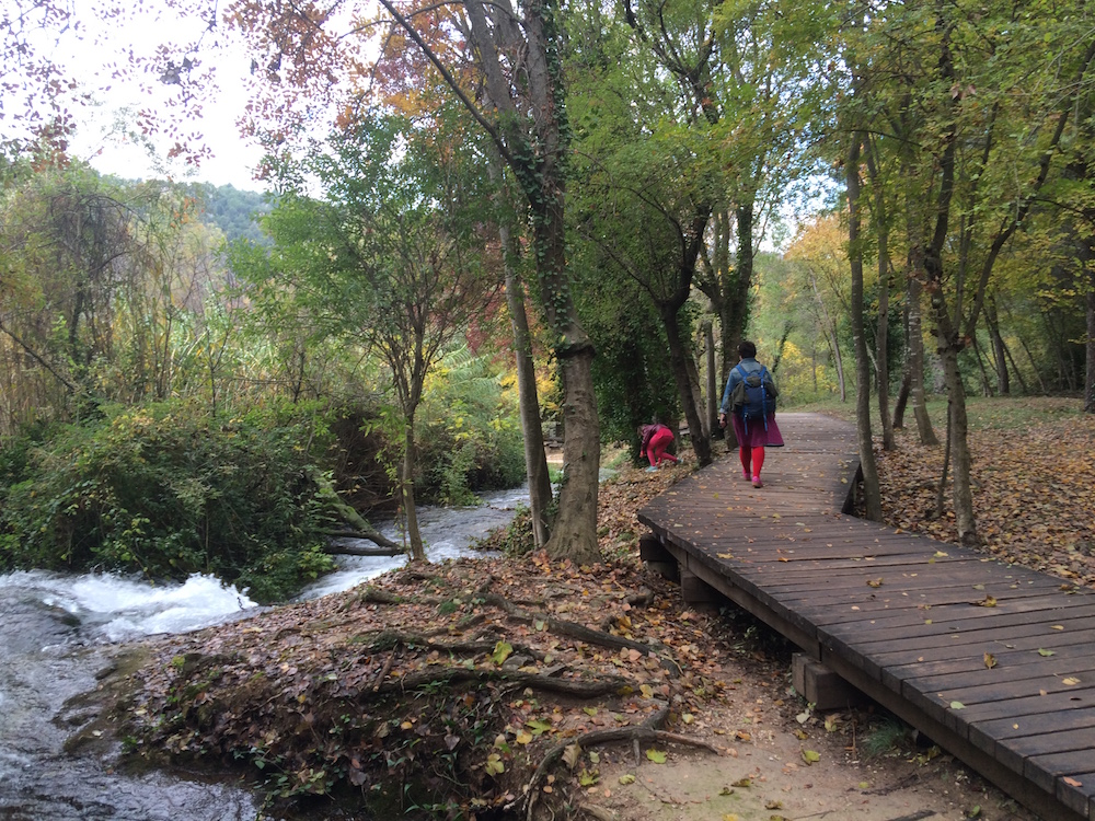 Some fall colours on the Krka Falls walk