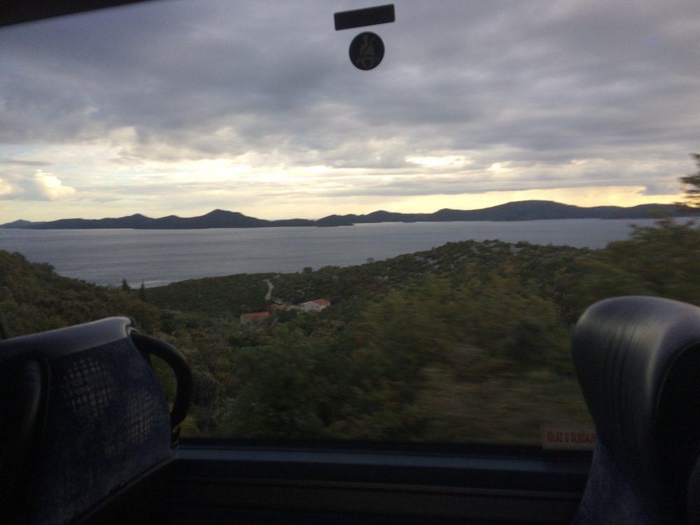 The bay just past Boznia-Herzigovina's border