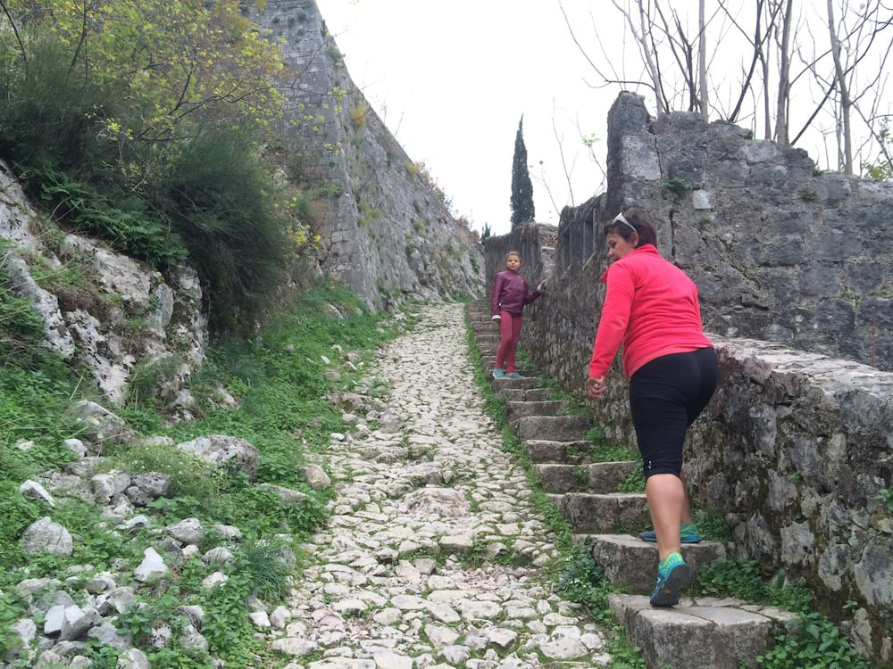 At the start of our hike, the attendant charged us just 3 Euros to get started, kids are free