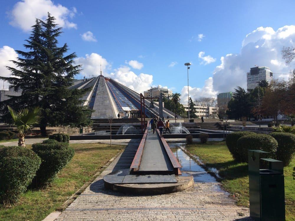 The infamous Pyramid, Tirana