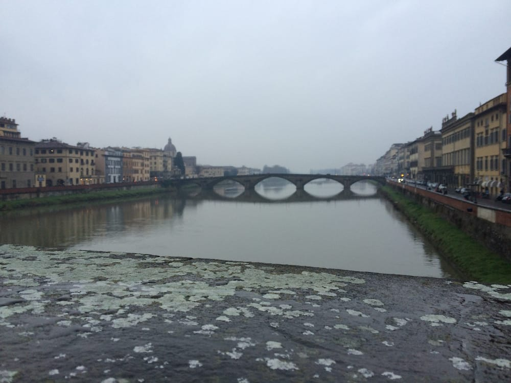 Our first week in Florence was rainy and cold and a bit dark, but this did not dampen our spirits