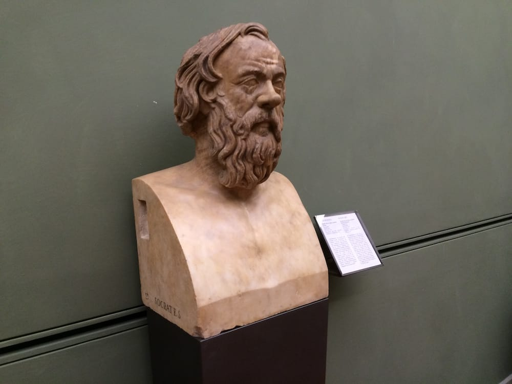 I love Socrates, and here he is