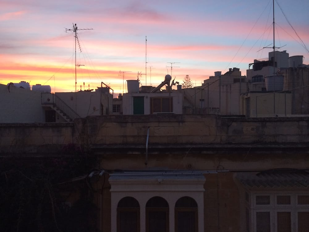 A winter Malta sunset, I cannot imagine how amazing summer sunsets are