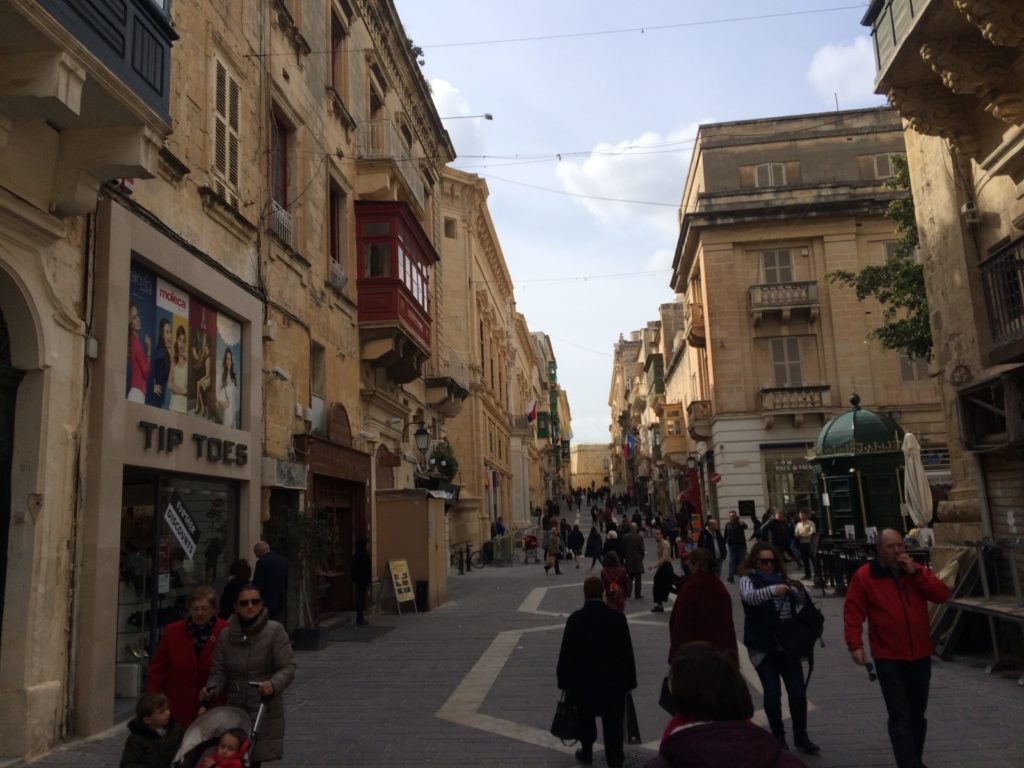 After the Valletta Carnivale we set off on another walk around Valletta