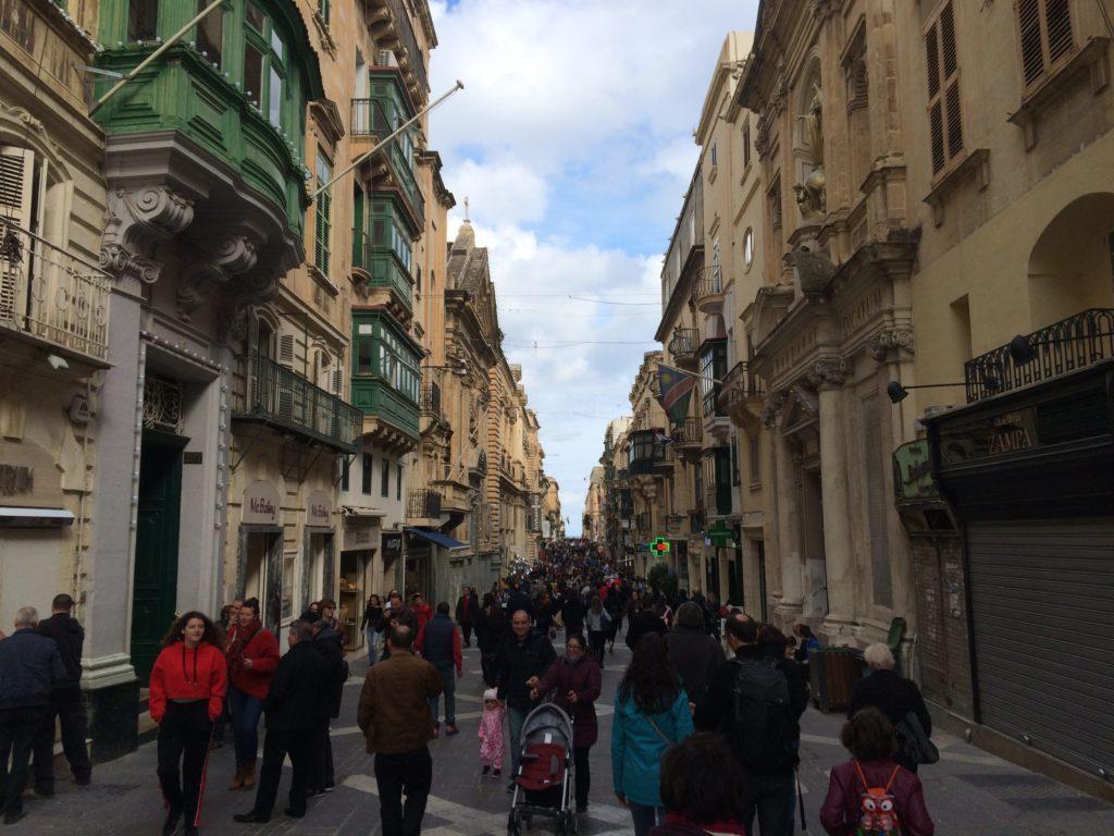 Valletta main street, Triq ir-Repubblika