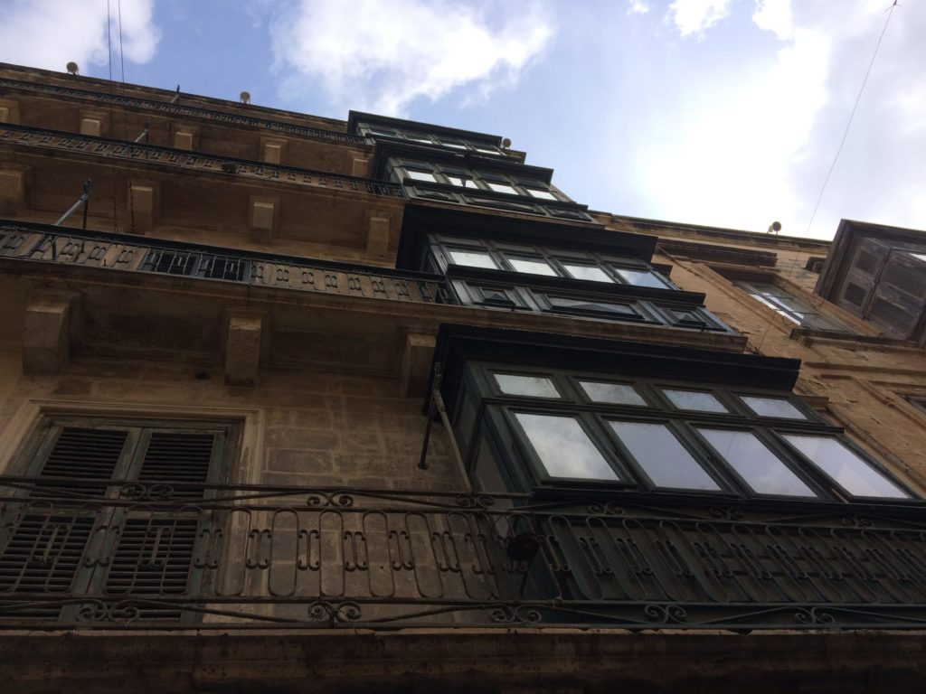 These windows on apartments are Malta to me