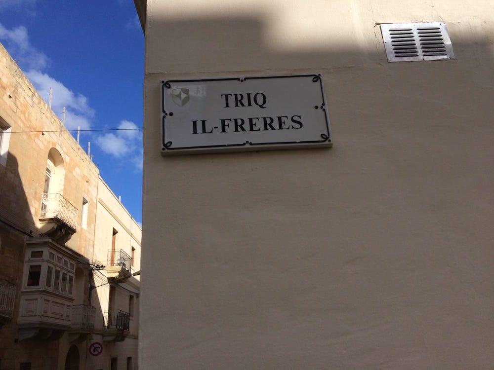 Our street in Malta, Triq il-Freres
