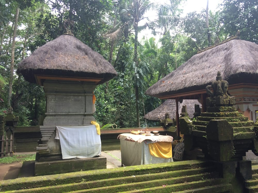 Another temple at Goa Gajah